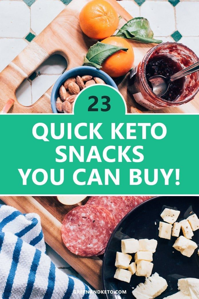 23+ Best Keto Snacks to Buy at Walmart - Green and Keto