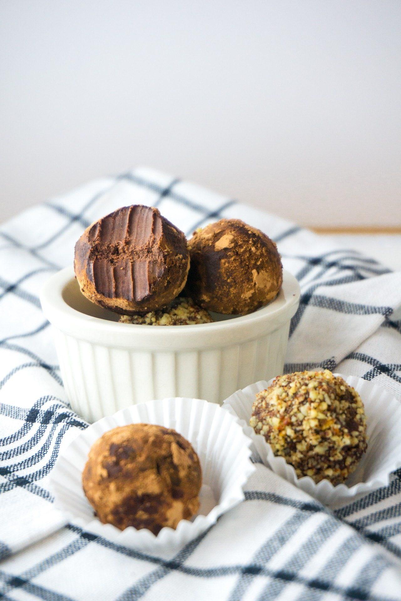 Two Ingredient Keto Truffles