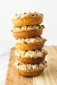 Cinnamon Crumb Cake Keto Donuts