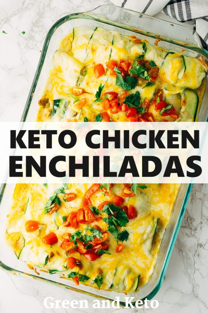 keto green chile enchiladas