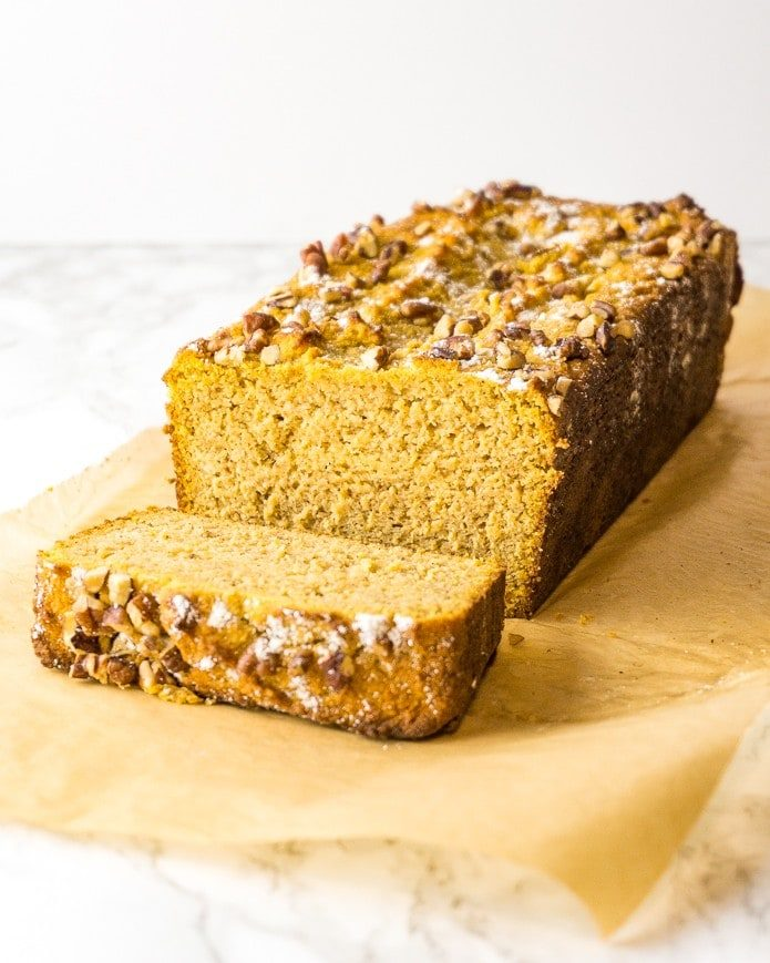 Keto Pumpkin Bread Green And Keto