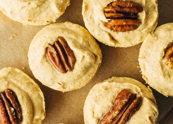 keto pumpkin pie fat bombs with pecans