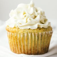 Keto Vanilla Cupcakes with Buttercream Frosting