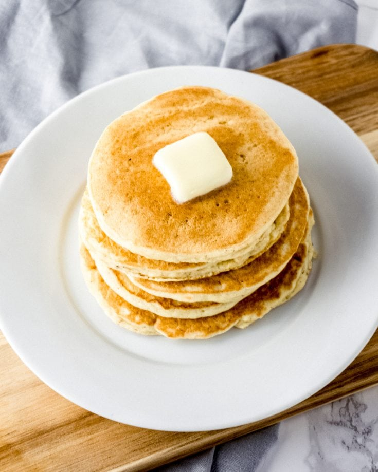 Fluffy Keto Pancakes Made With Coconut Flour Green And Keto