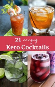 21 Keto Cocktails: The Best Keto Alcoholic Drinks