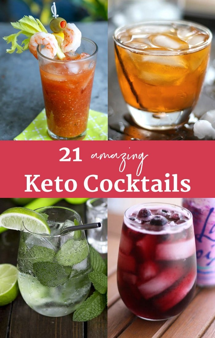 keto mixed drinks