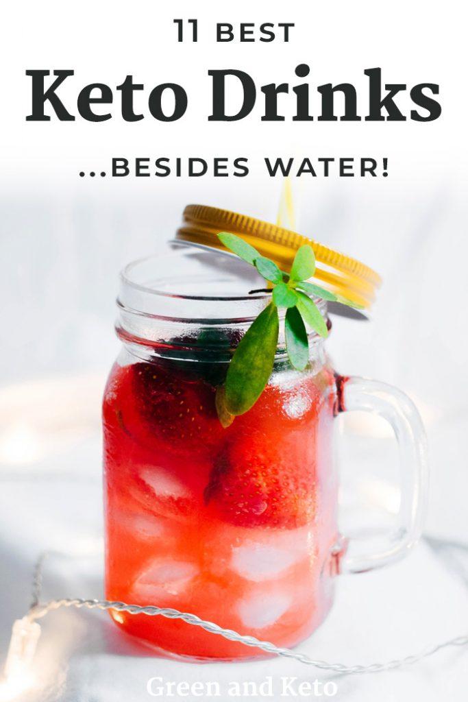 11 Best Keto Drinks Besides Water