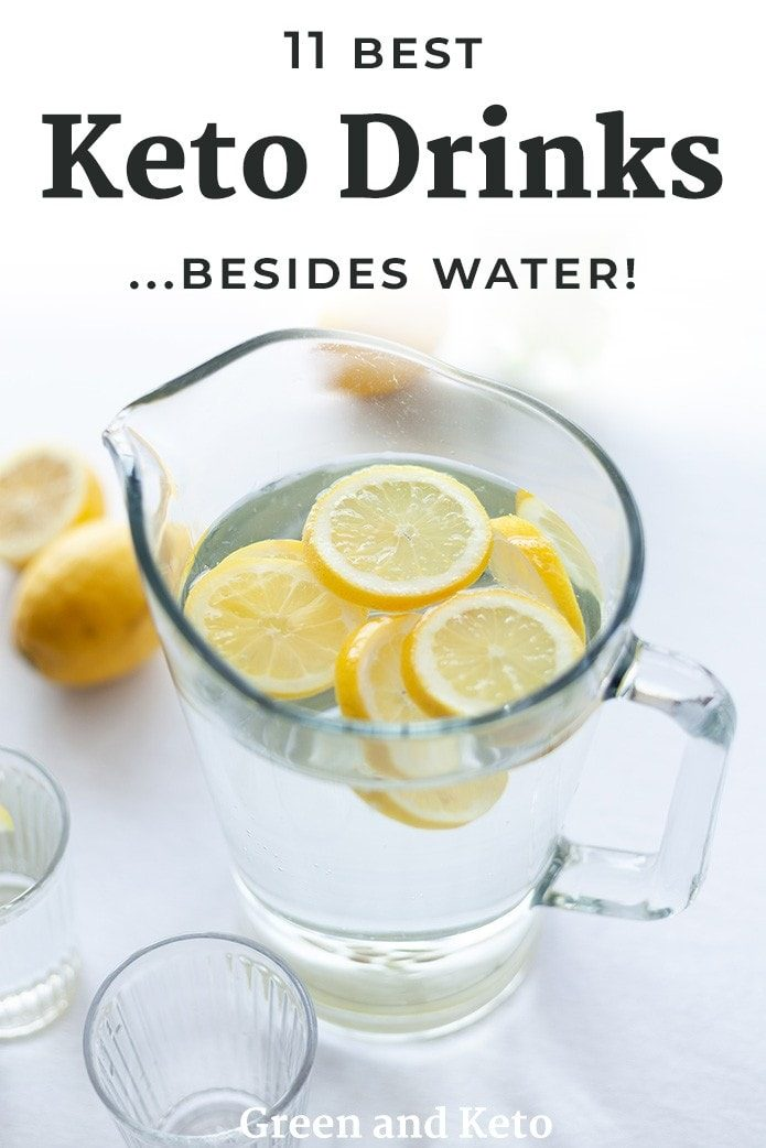 the best keto drinks besides water