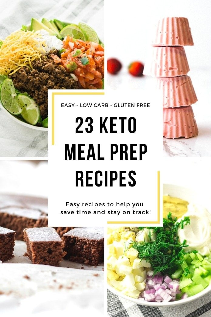 keto meal prep recipes
