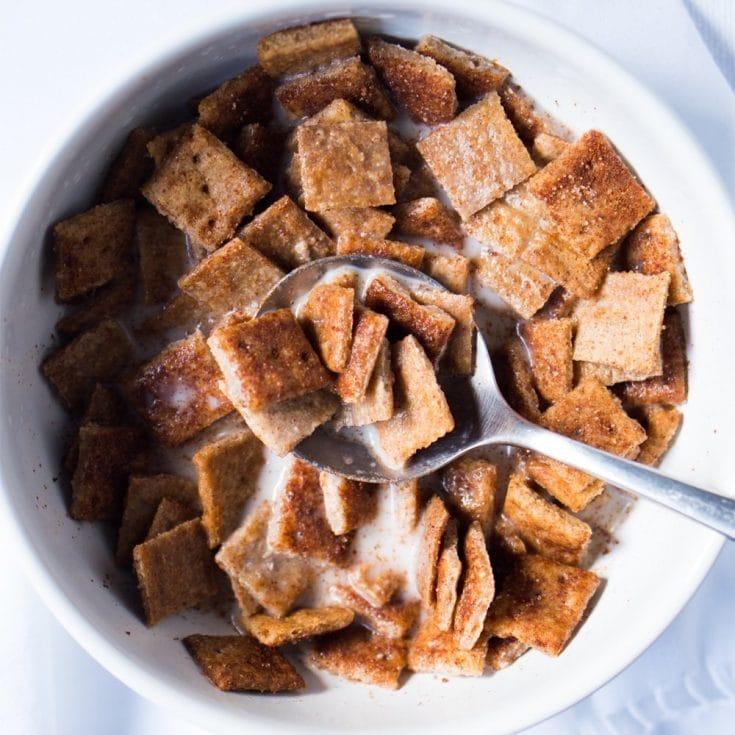 Extra Crisp Cinnamon Toast Crunch Cereal 🥛 gluten free, keto & paleo