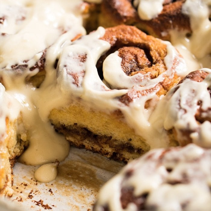 Properly Fluffy 'N Gooey Cinnamon Rolls 🍥🎥 gluten free, keto & paleo