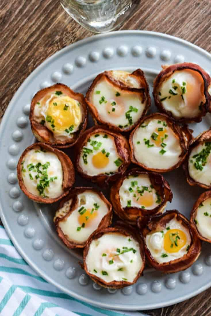 Bacon and Egg Cups (Keto, Whole30, Paleo) · Seasonal Cravings