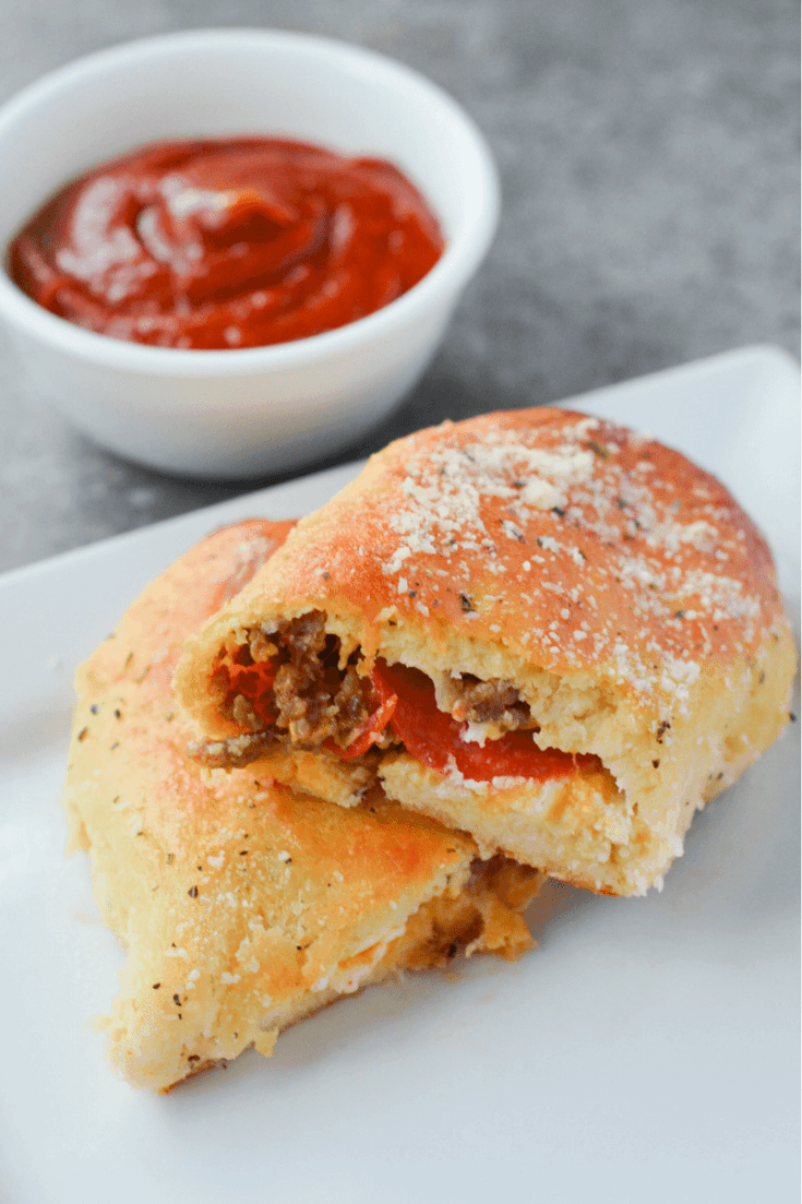 Keto Fathead Pizza Pockets
