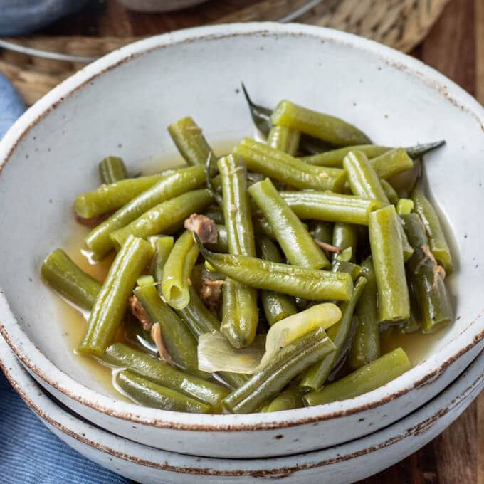 Southern Green Beans - Southern Style Green Beans