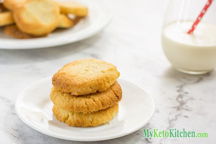 Keto Shortbread Cookies – Low Carb Vanilla – Easy to Make at Home