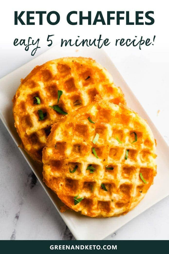 easy 5 minute recipe for keto chaffles