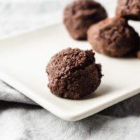 Keto Chocolate Fudge Brownie Fat Bombs