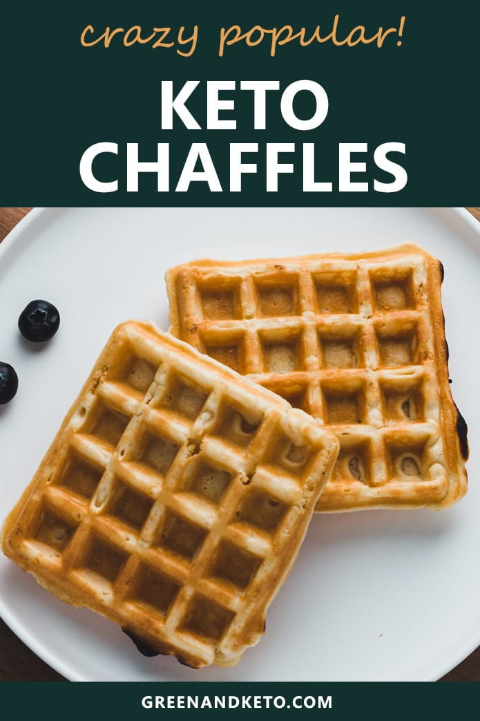 keto chaffles recipe for low carb cheddar waffles