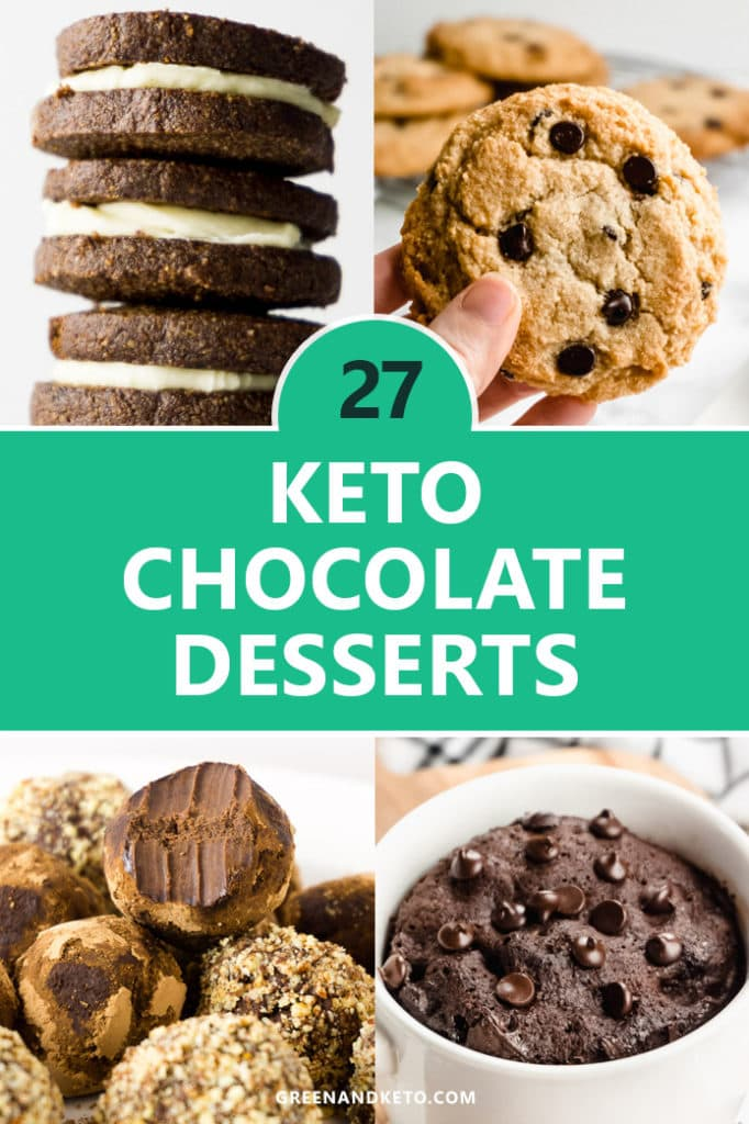 27 Keto Chocolate Dessert Recipes