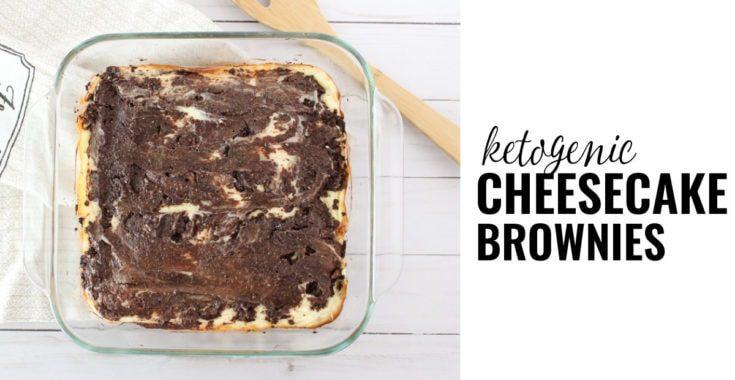 Keto Cream Cheese Brownies