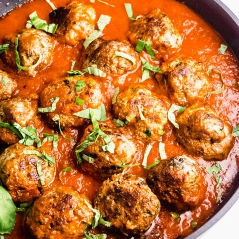 The Best Keto Meatballs - Gluten-free without Breadcrumbs