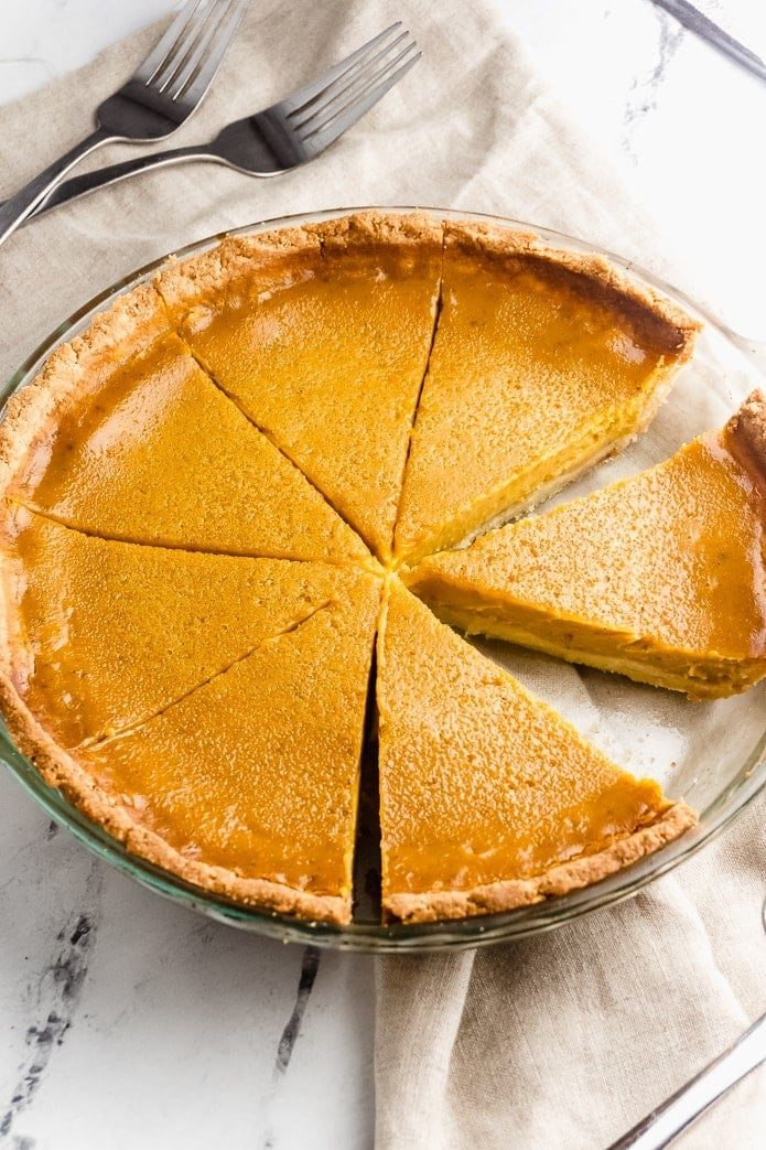 Keto Pumpkin Pie - Sugar Free