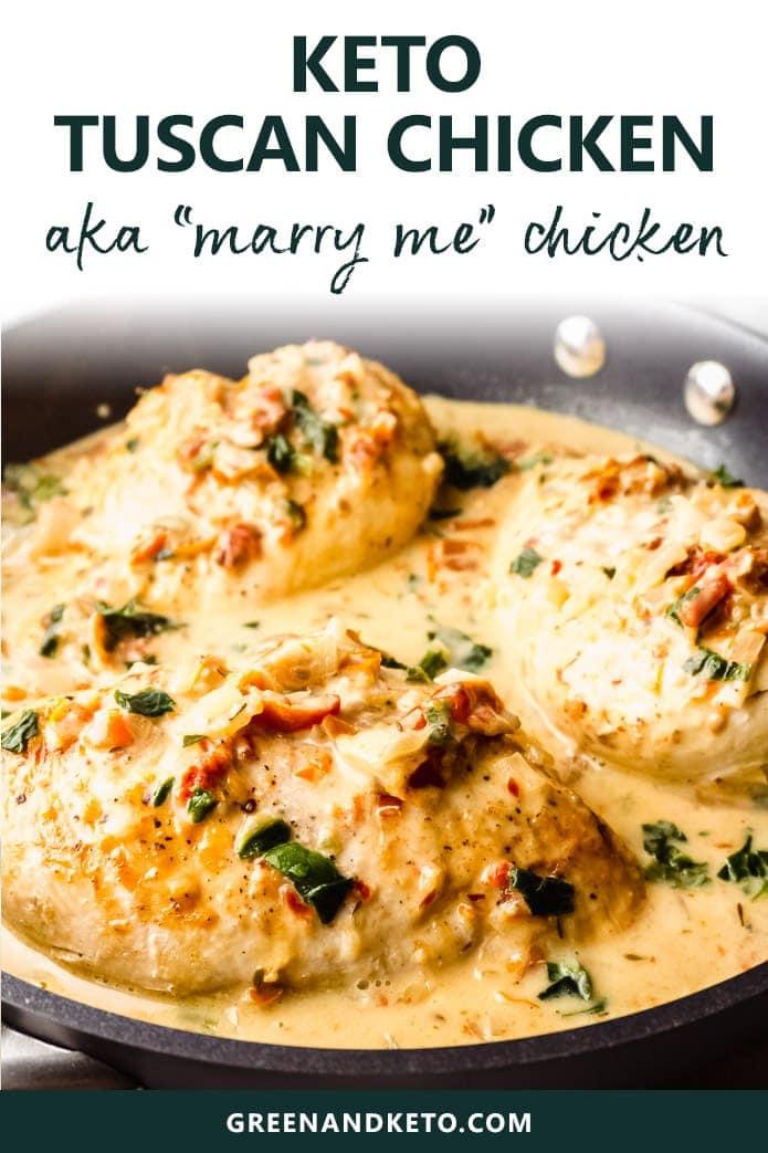 creamy tuscan chicken skillet dinner
