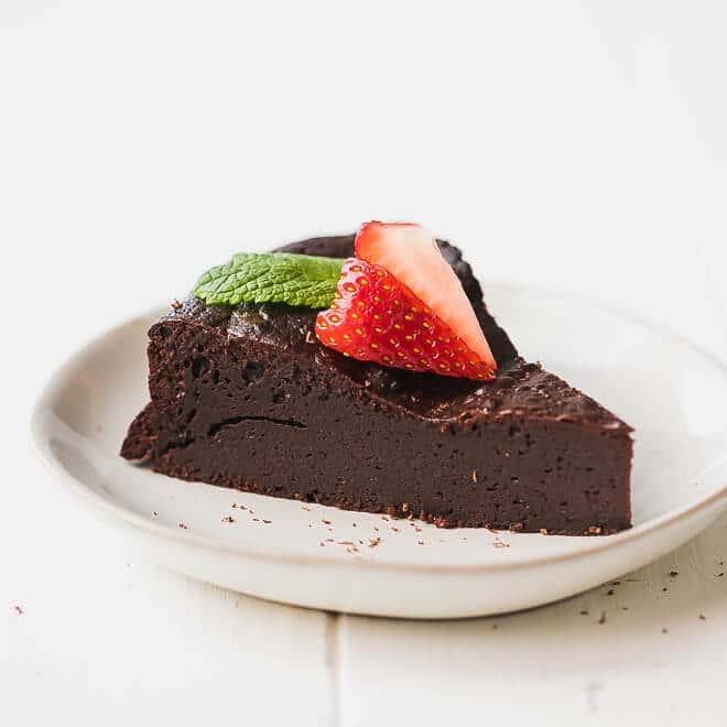 Low-Carb, Keto Flourless Chocolate Torte Recipe