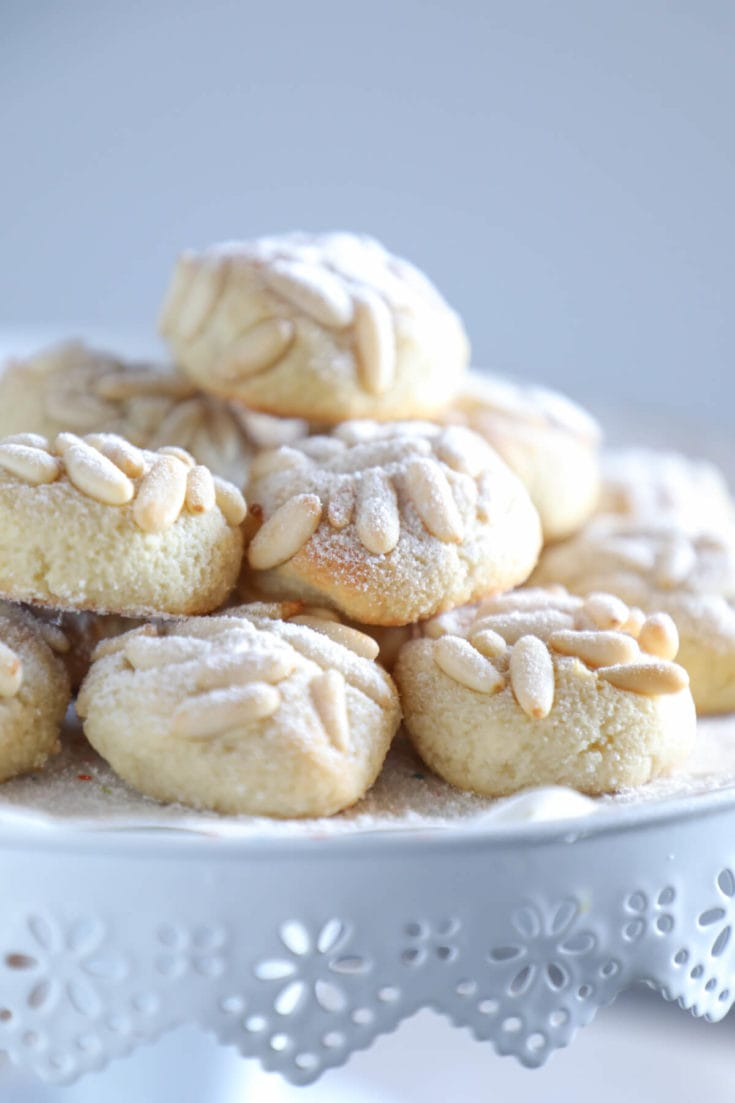 Keto Pignoli Cookies - Low Carb & Dairy Free