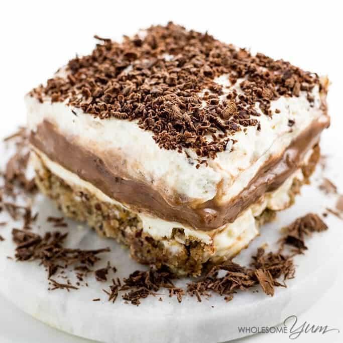 Sex in a Pan Dessert Recipe (Sugar-free, Low Carb, Gluten-free)