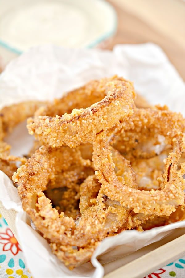 Keto Onion Rings! Low Carb Onion Rings