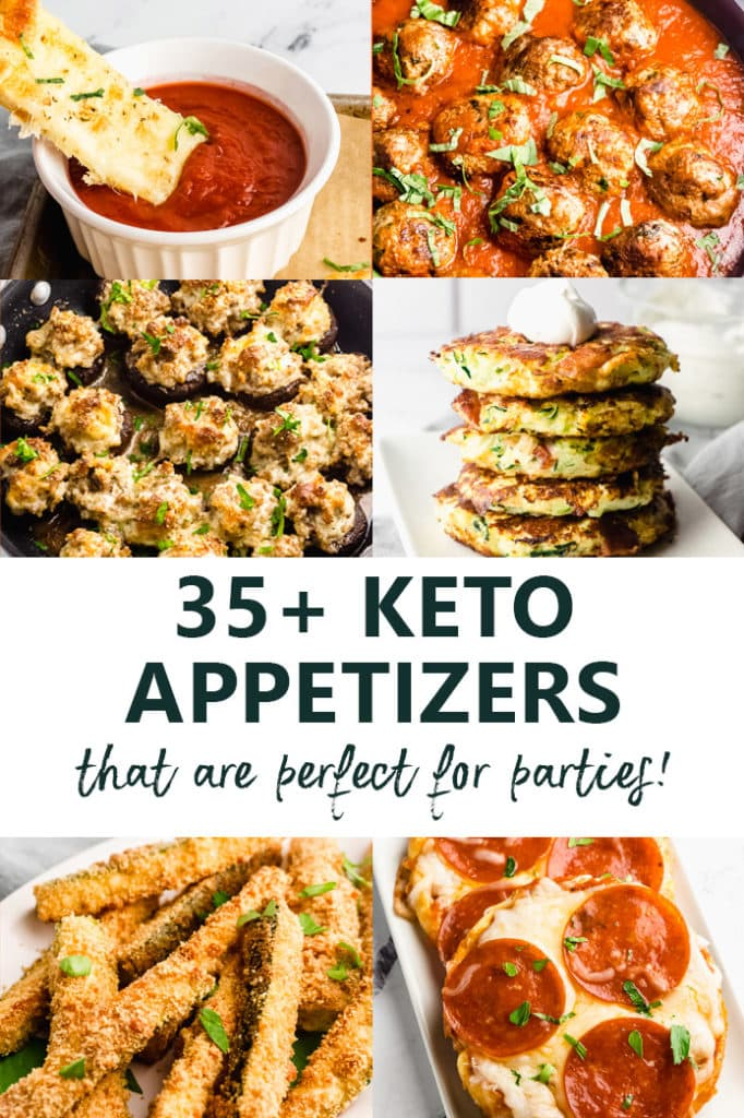 35 Keto Appetizers Perfect for Game Day Snacks!