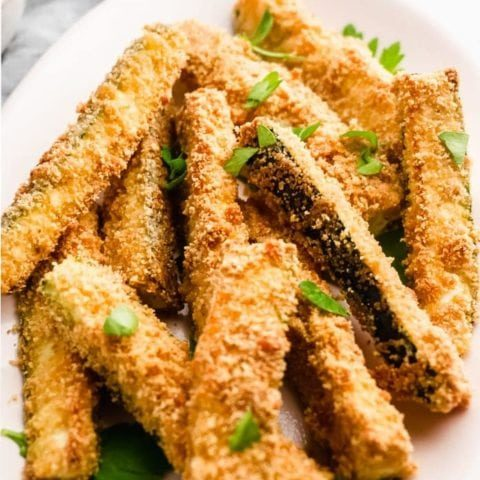 Oven Baked Keto Zucchini Fries