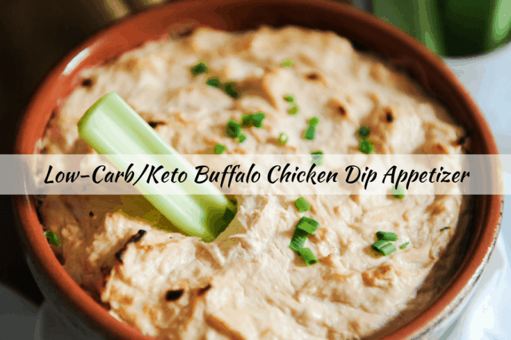 Low Carb & Keto Buffalo Chicken Dip Appetizer Recipe