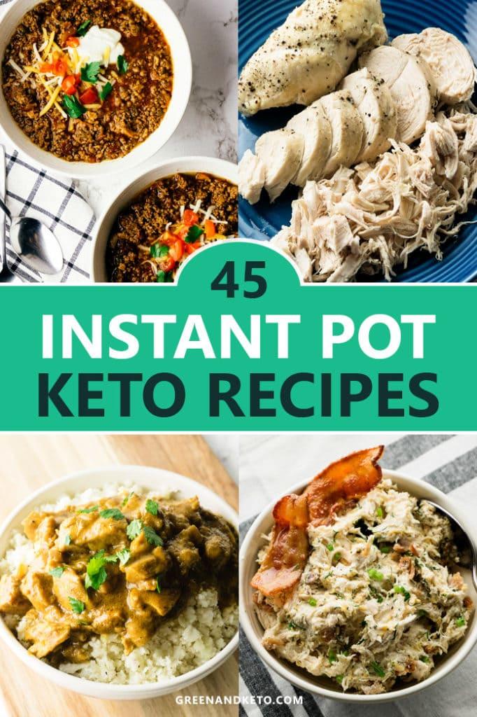 45 Fast Keto Instant Pot (Pressure Cooker) Recipes