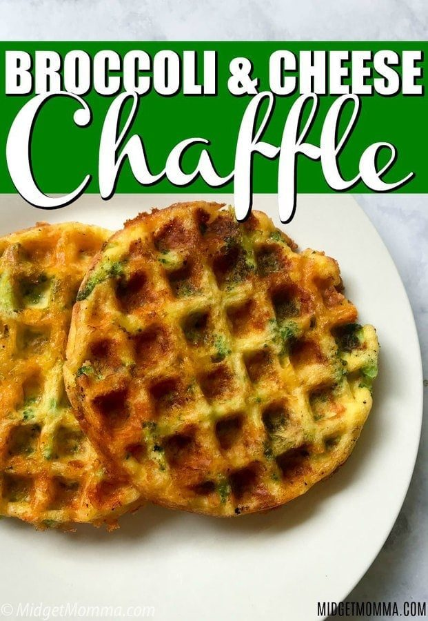 Broccoli and Cheese Chaffle Recipe