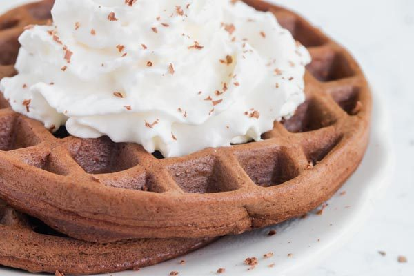 Keto Chocolate Chaffle