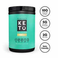 Perfect Keto Collagen Peptides Vanilla