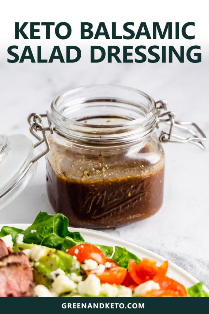 Keto Creamy Balsamic Dressing Recipe