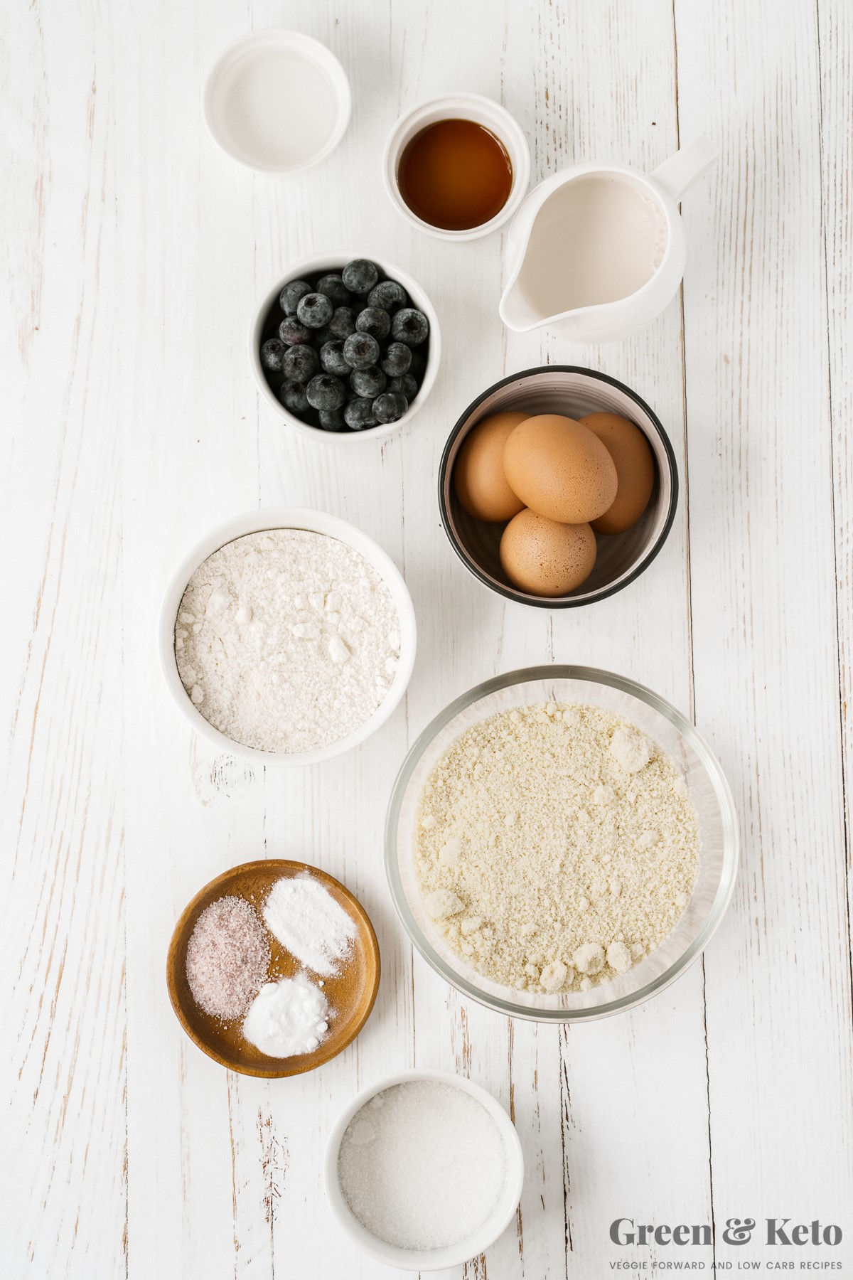 low carb muffins ingredients