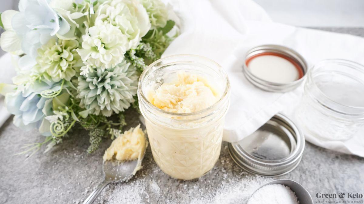 How to make sweetened condensed milk (keto)